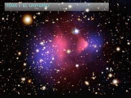 Tema 1 el universo