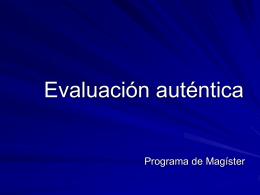 Evaluación - PedagogiaUniversitaria