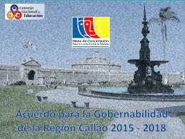 Representante MCLCP Callao - Consejo Nacional de Educación
