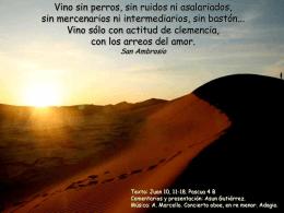Pascua 4 -B- - Javier Leoz