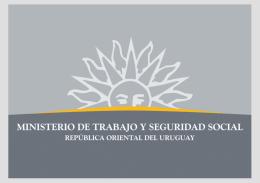 Ver Informe - Ministerio de Trabajo y Seguridad Social