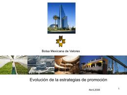 El Mercado de Valores.