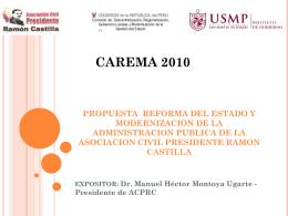 Diapositiva 1 - Asociación Civil Presidente Ramón Castilla