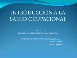 Descargar presentación - Asociación de Administradores de Salud