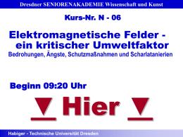 Prof. Habiger – Vortrag Donnerstagskolloquium