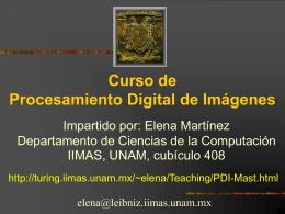 fóvea - Departamento de Ciencias de la Computación :: IIMAS