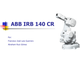 ABB IRB 140 CR - Ingeniería de Sistemas y Automática