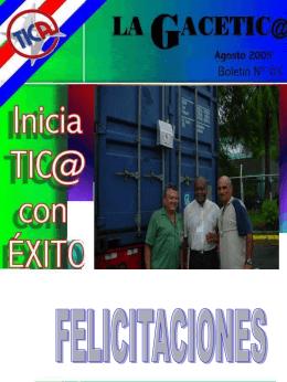 Tic - Ministerio de Hacienda