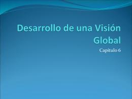 Desarrollo de una Visión Global