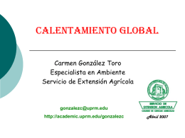 Calentamiento Global - chetumal