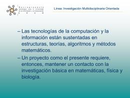 Diapositiva 1 - Laboratorio de Dinámica no Lineal