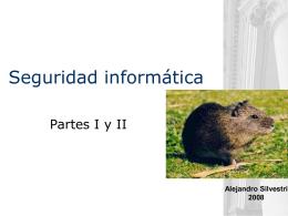 Seguridad informática - Quiz parte I y II