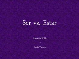 4B - Ser vs Estar
