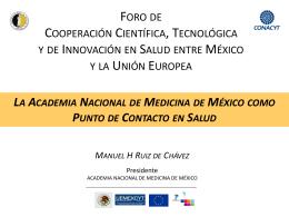 Dr. Manuel H. Ruiz de Chavez