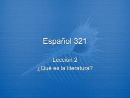 Español 321