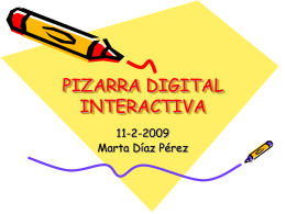 PDi (Pizarra Digital Interactiva de gran formato)