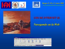 Burgos 9, 10 y 11 enero 2002