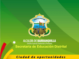 secretaria de educacion distrital