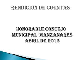INFORME FINAL - Concejo Municipal de Manzanares Caldas