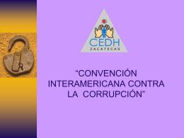 Derechos Humanos versus Corrupción