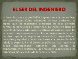 EL SER DEL INGENIERO