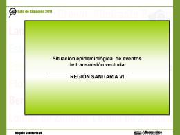 vectoriales - Region Sanitaria VI