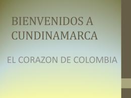Departamento de Cundinamarca