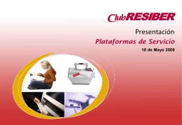 RESIBER Plataformas - Iberia Web Sistemas