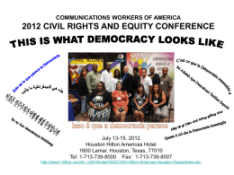 communications workers of america 2012 civil rights and equity