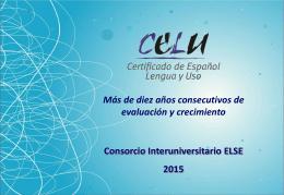 presentación CELU 215 en