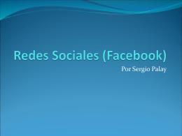 Redes Sociales (Facebook)