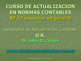 NORMAS_CONTABLES_3 - Técnicas de Valuación