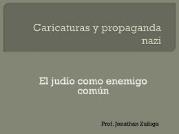 Caricaturas y propaganda nazi - LaPazColegio2014-2015