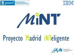 Presentación Proyecto MiNT