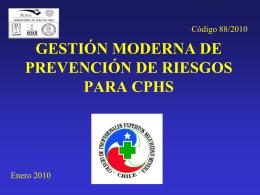 gestión moderna de prevención de riesgos para cphs - AURA-O