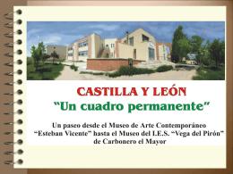Un Cuadro permanente - Concurso Día de Castilla y León en clase