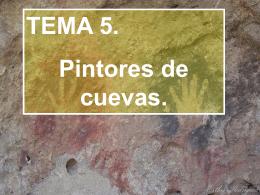 Pintores de cuevas