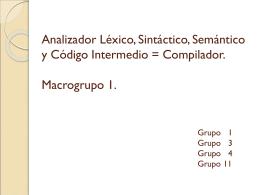 Diseño de un compilador para Modula-2