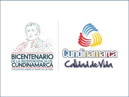 Planes - Gobernación de Cundinamarca
