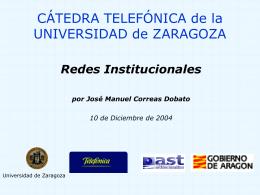 Presentación de PowerPoint - Cátedra Telefónica