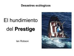 El hundimiento del Prestige