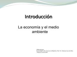 La economía y el medio ambiente