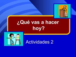Vocabulario - Actividades 2
