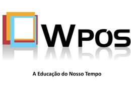 Apresentação WPós