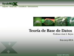 Introducción+Teoría+de+Base+de+Datos