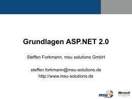 ASP.NET Architektur
