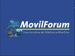 MovilForum: Telefónica Móviles Developers Forum