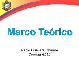Marco Teórico - Asesores