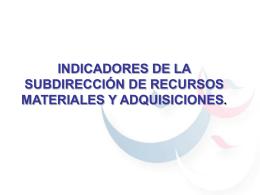 ADQUISICIONES - Instituto Nacional de las Mujeres
