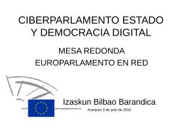 presentacion curso de verano ciberdemocracia y estado